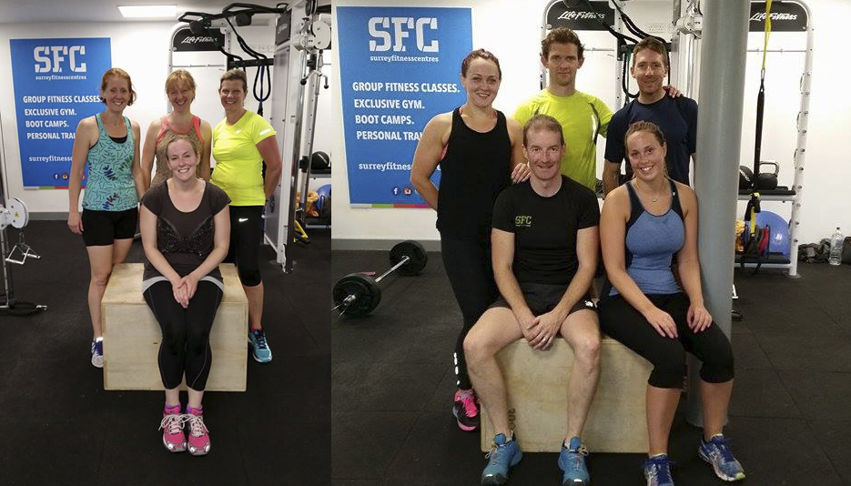 Group Personal Training sessions at Weydon School, Farnham with Andrew Whittle!