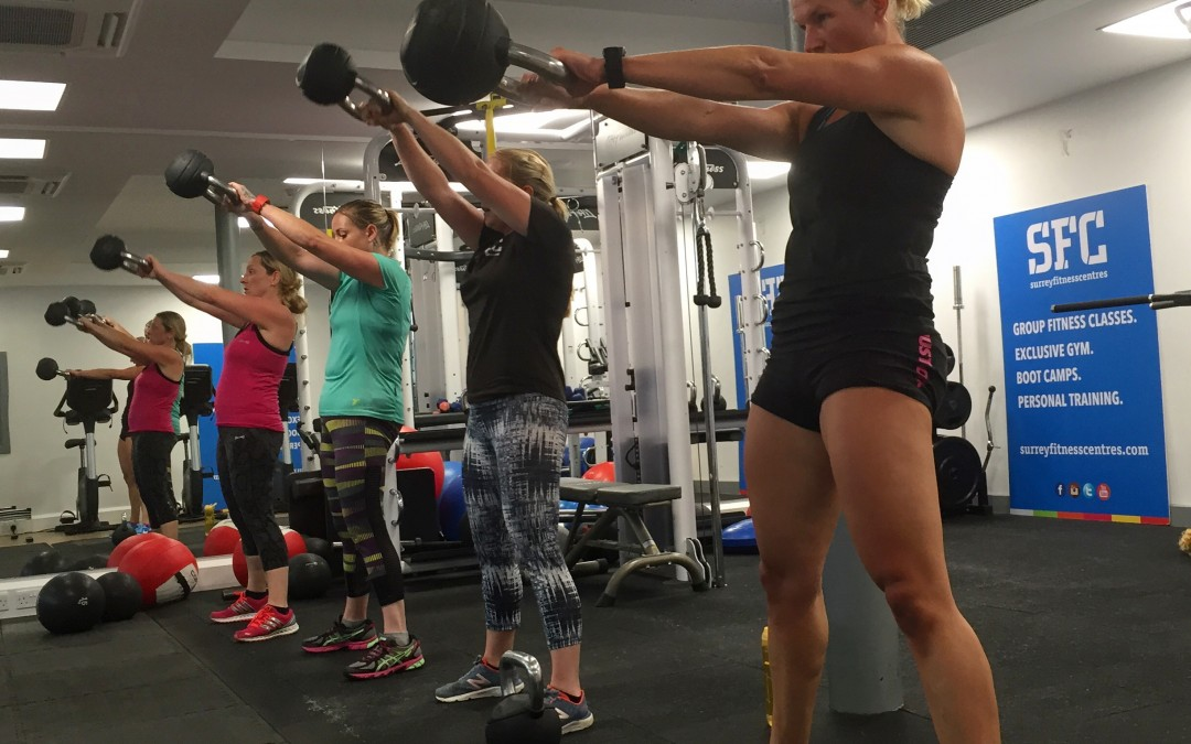 Group Personal Training sessions at our Farnham Gym – November now on sale!