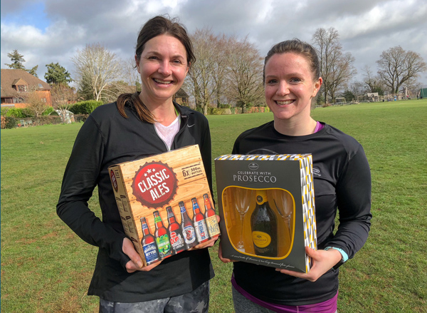Haslemere members Amanda and Hayley latest 'Member of the Month'!