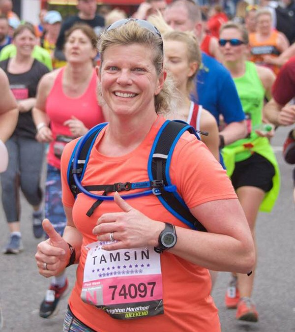 Godalming fitness member Tamsin complete the Brighton Marathon (again!)