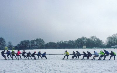 VIDEO: Godalming Boot Camp tug-o-war in the snow!