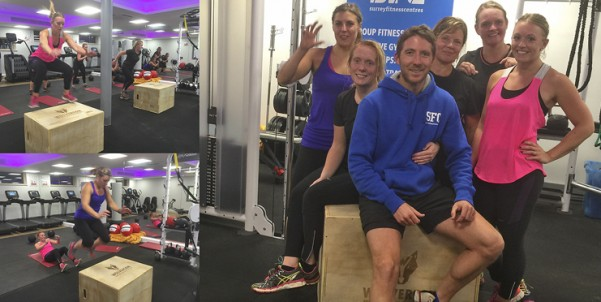 VIDEOS: Pre-launch group Personal Training session in Farnham (Weydon School) with Nick and Andrew!