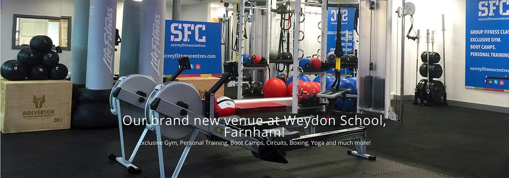 Surrey Fitness Centres Launching in Farnham, Weydon School.
