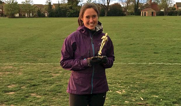Woking, Knaphill Surrey Fitness Centres member Kate Freshney 'Member of the Month'!