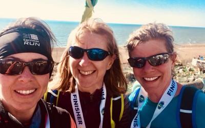 Godalming Boot Camp members complete the Brighton Half Marathon!