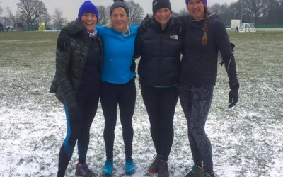 Coldest Godalming Personal Training session EVER!