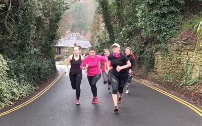 Video: 'Find a steep hill and make them race up it'!
