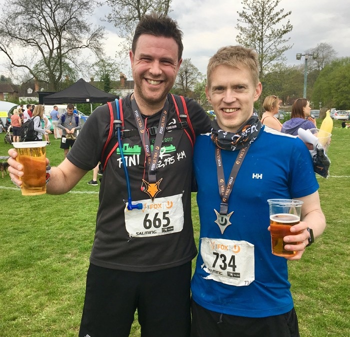 Godalming Boot Camp members complete the 'Fox Ultra'!