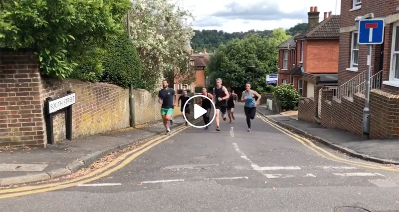 Video: Saturday morning Godalming Boot Camp is all it's glory!