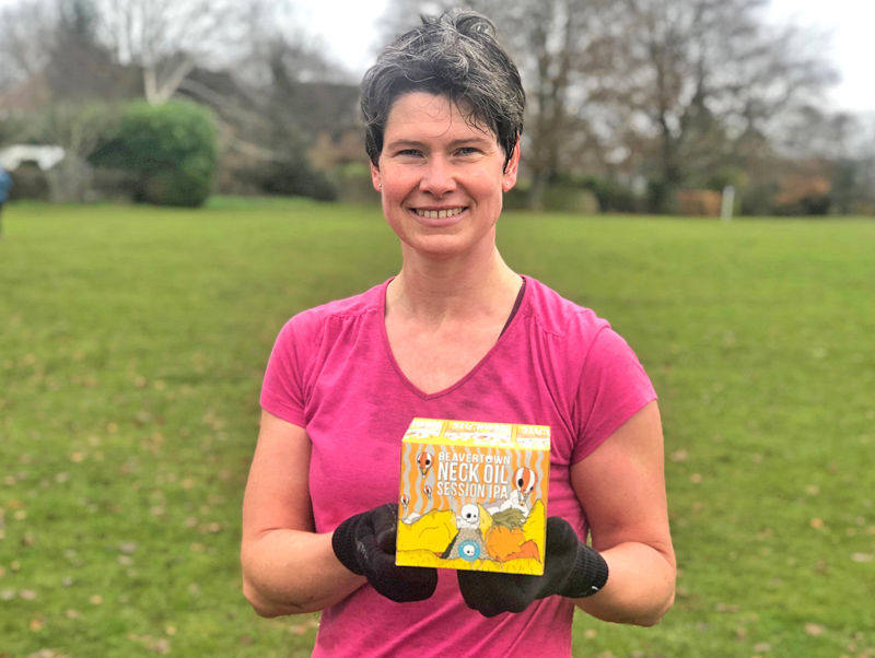 Godalming member Sabrina wins November 'Member of the Month'!