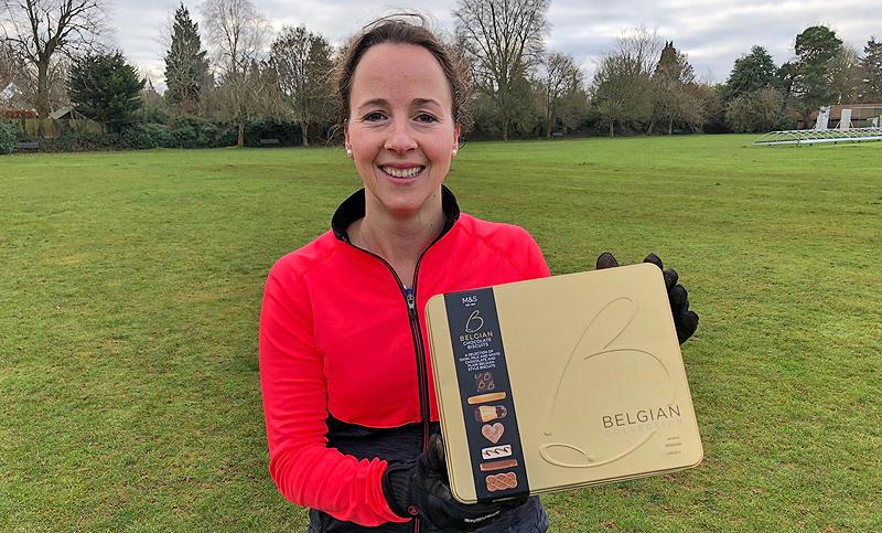 Natasha tops Surrey Fitness Camps December leaderboard!