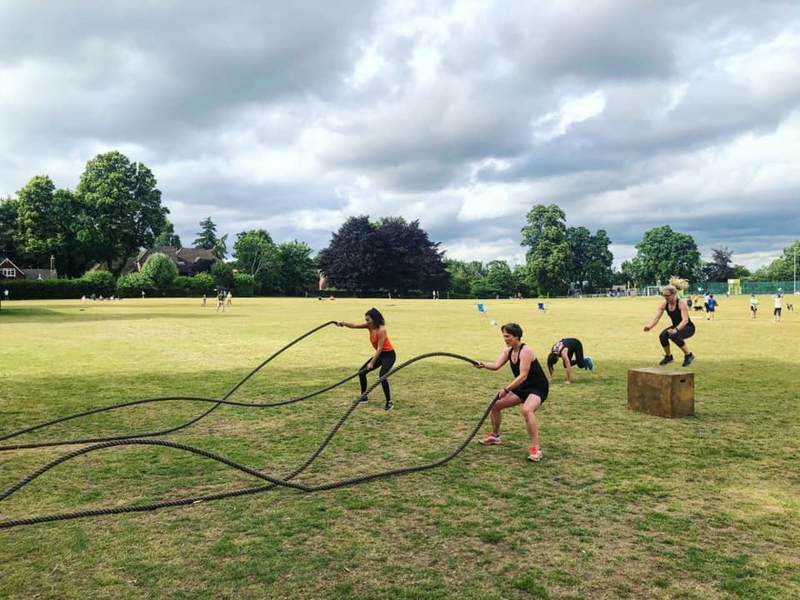 Video: Godalming small group Personal Training sessions!