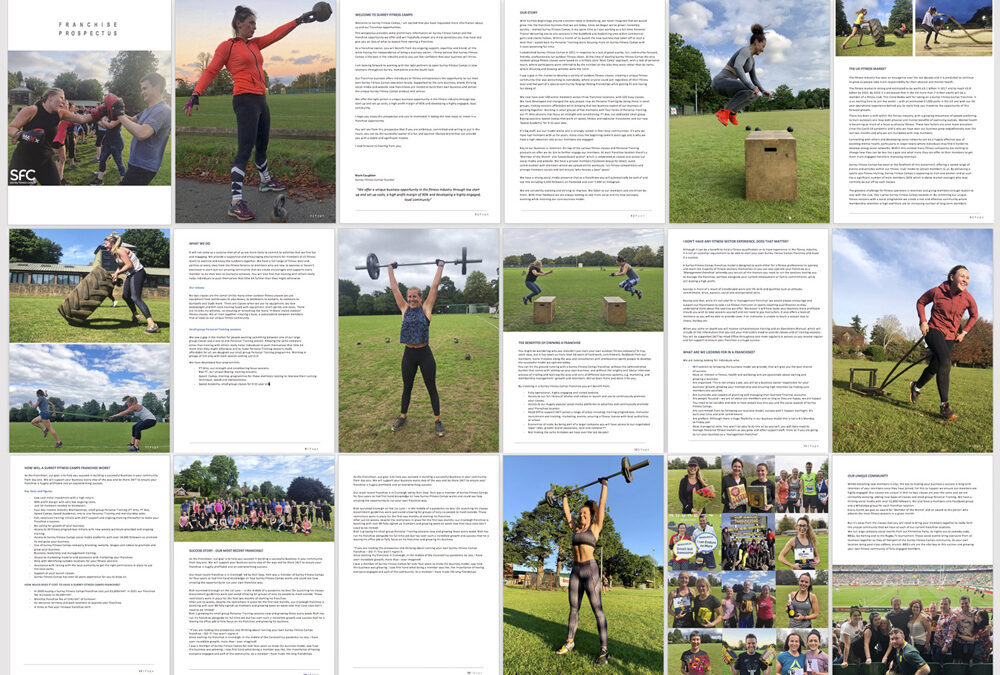 Franchise with Surrey Fitness Camps, download our prospectus!